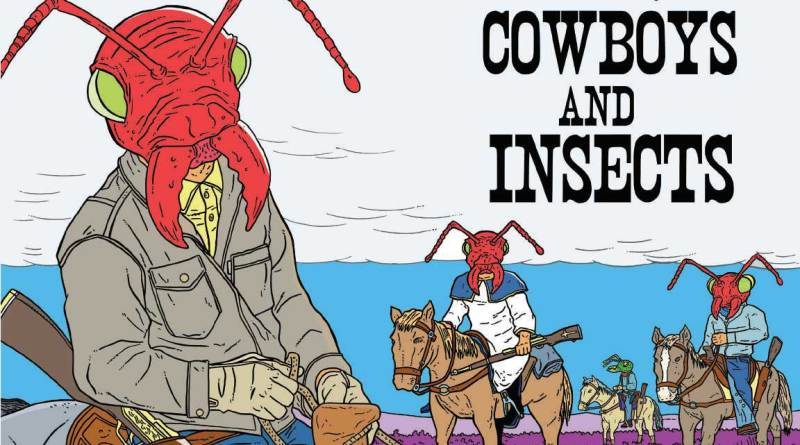 Cowboys and Insects - Cover