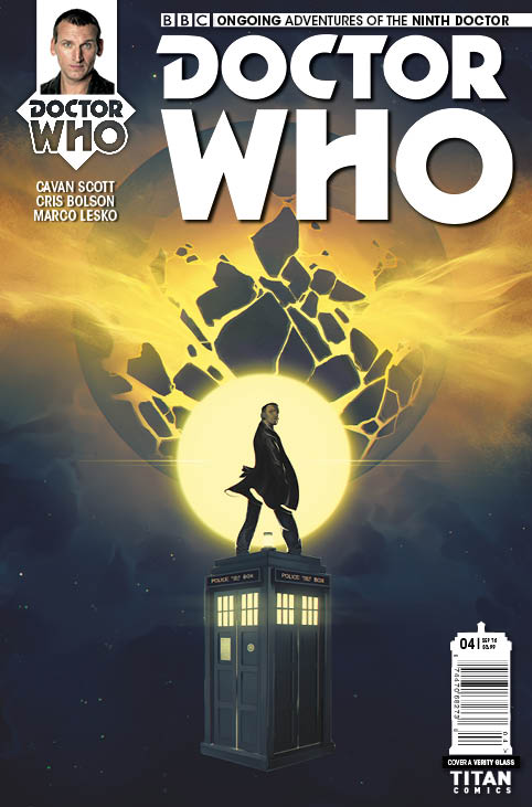 Doctor Who: The Ninth Doctor #4 - Cover A