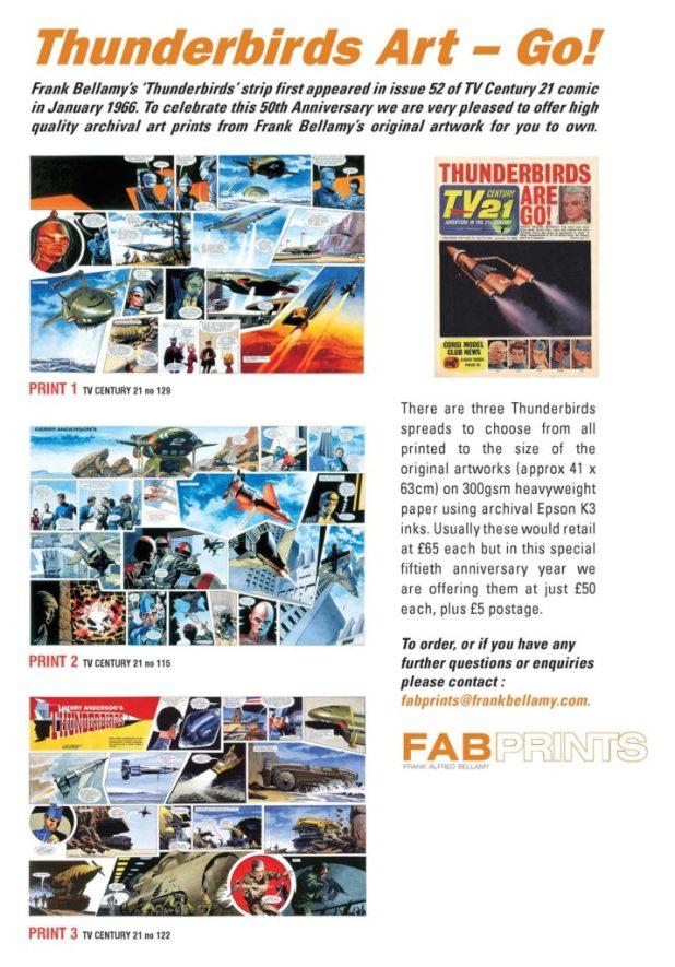FAB Prints - Thunderbirds Art