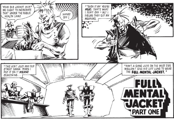 "Judge Dredd: ""Full Mental Jacket"""