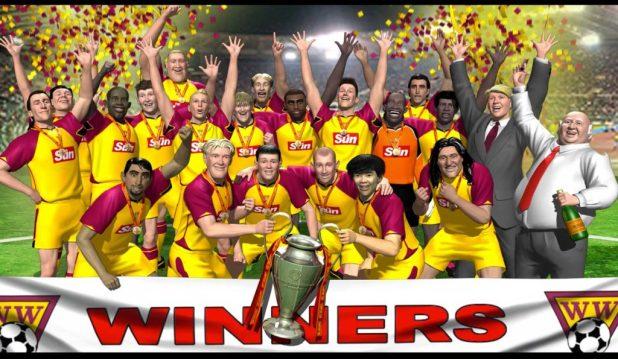 Striker Pomo 2016 - Cup Winners