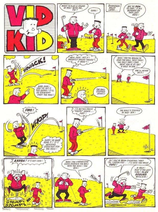 Vid Kid - Buster 1405 12th December 1987