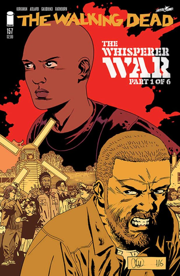 Walking Dead #157 Cover A