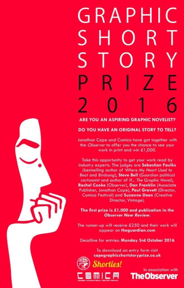Graphic Short Story Prize 2016