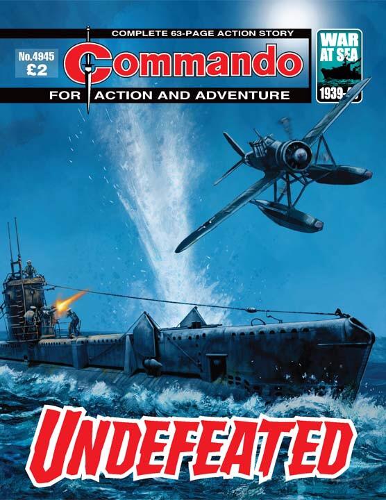 Commando No 4945 – Undefeated