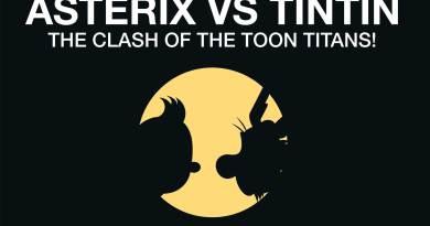 Asterix vs Tintin Promotional Art