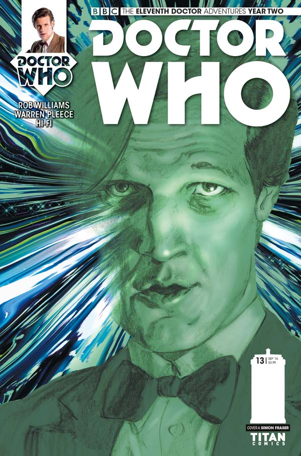 Doctor Who: The Eleventh Doctor #2.13 Cover A