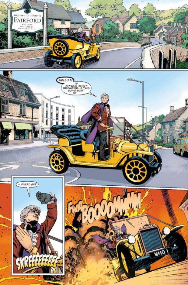 Doctor Who: The Third Doctor Preview 4
