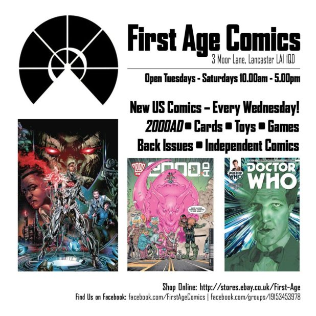 First Age Comics Promo for 21-9-16