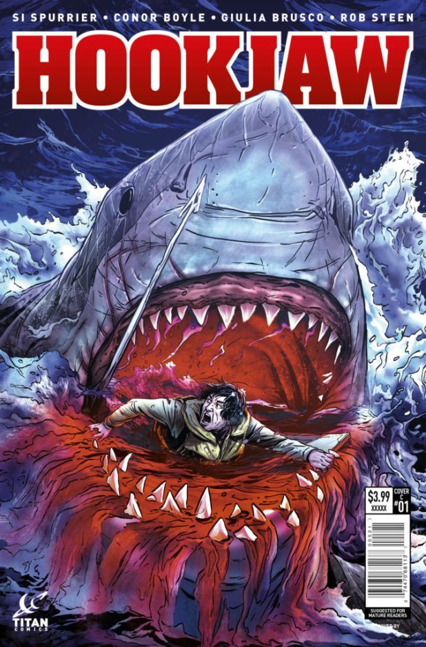 Hook Jaw #1 Cover C by Marc Laming
