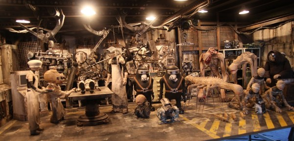 Characters from Junk Head in the Doctor's lair