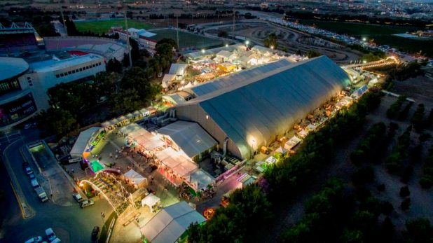 Malta Comic Con 2016's venue - the Malta Fairs and Convention Centre in Ta' Qali