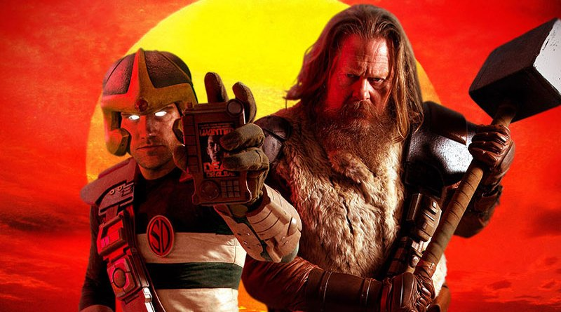 Search and Destroy - Strontium Dog Fan Film Poster SNIP