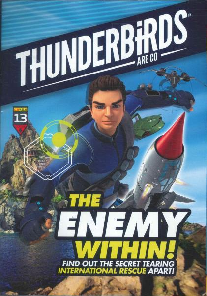 Thunderbirds Are Go Issue 13 - Cover