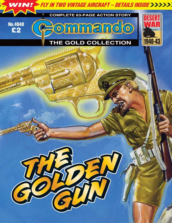 Commando No 4948 – The Golden Gun