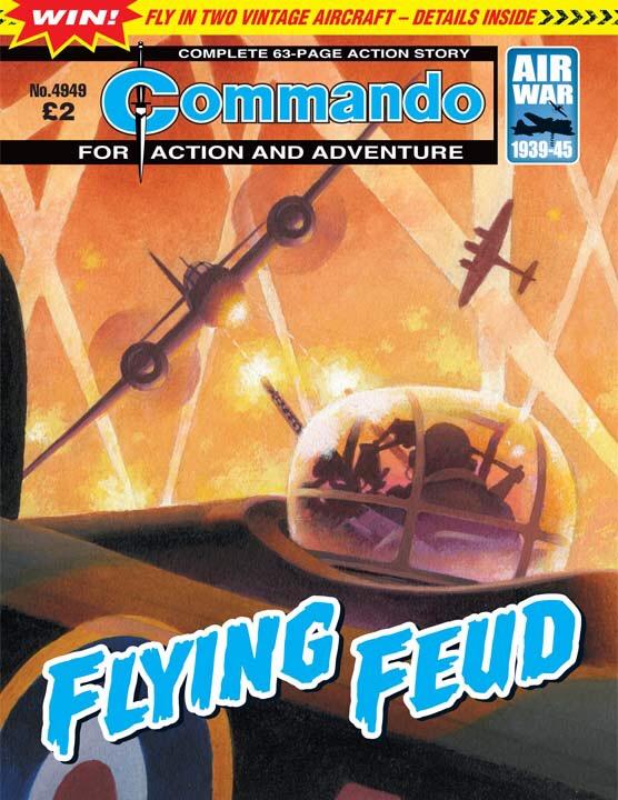 Commando No 4949 – Flying Feud