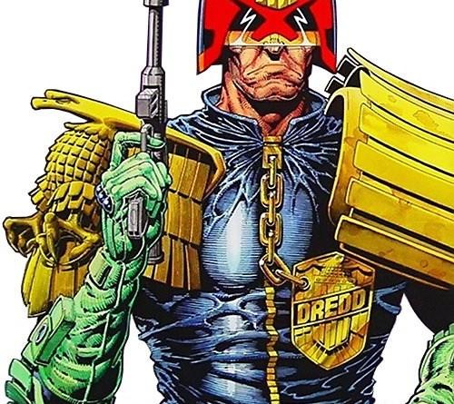 Judge Dredd Art