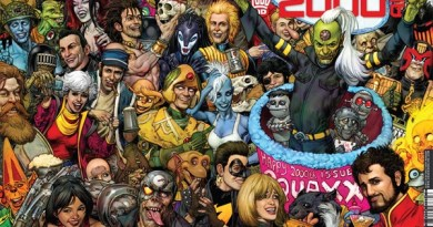 2000AD Prog 2000 Newsstand Cover by Cliff Robinson
