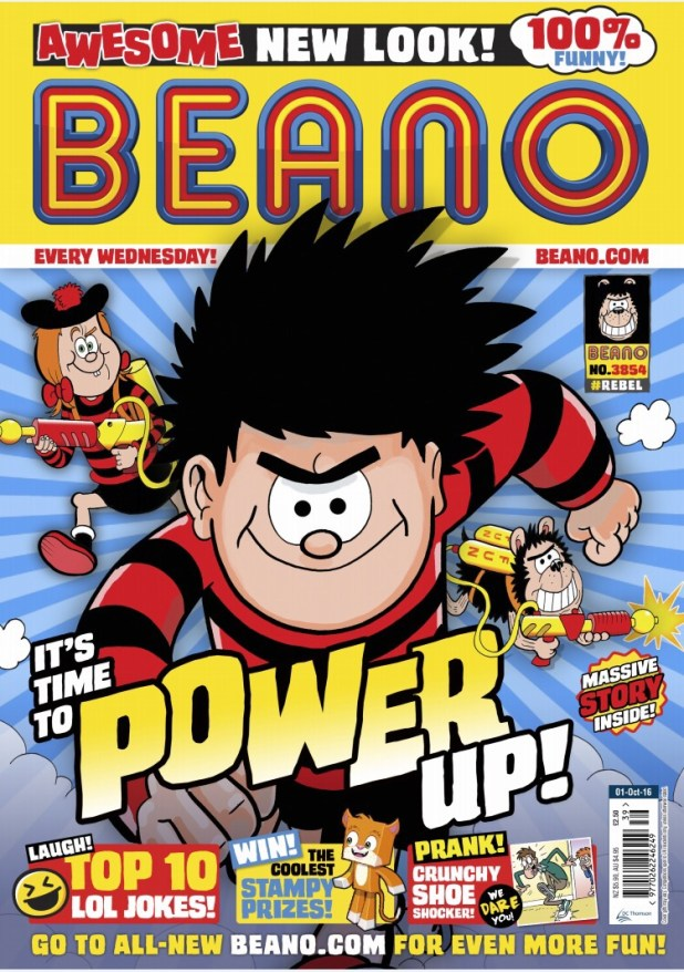 The Beano 3854 - New Look September 2016