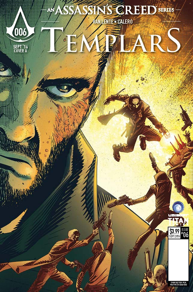 Assassin's Creed Templars #6 - Cover A