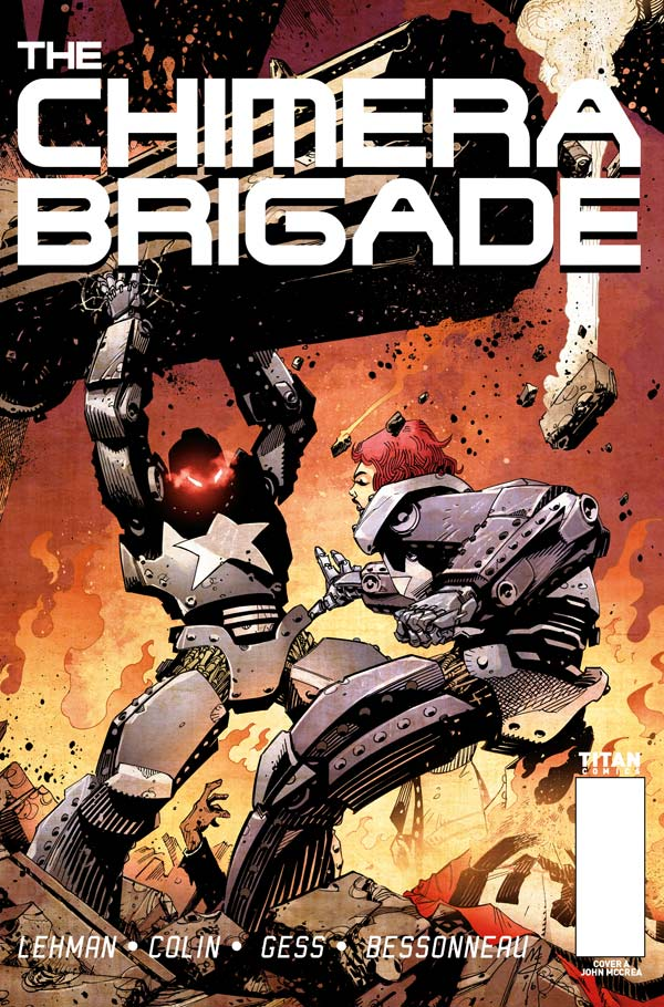 The Chimera Brigade #1 - Cover A