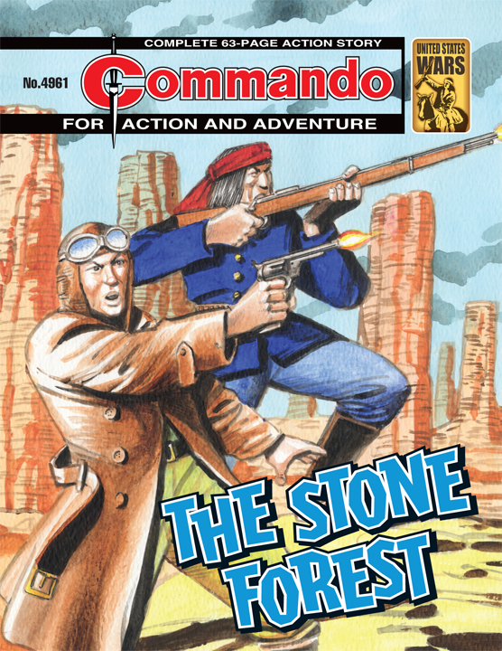 Commando 4961 - The Stone Forest
