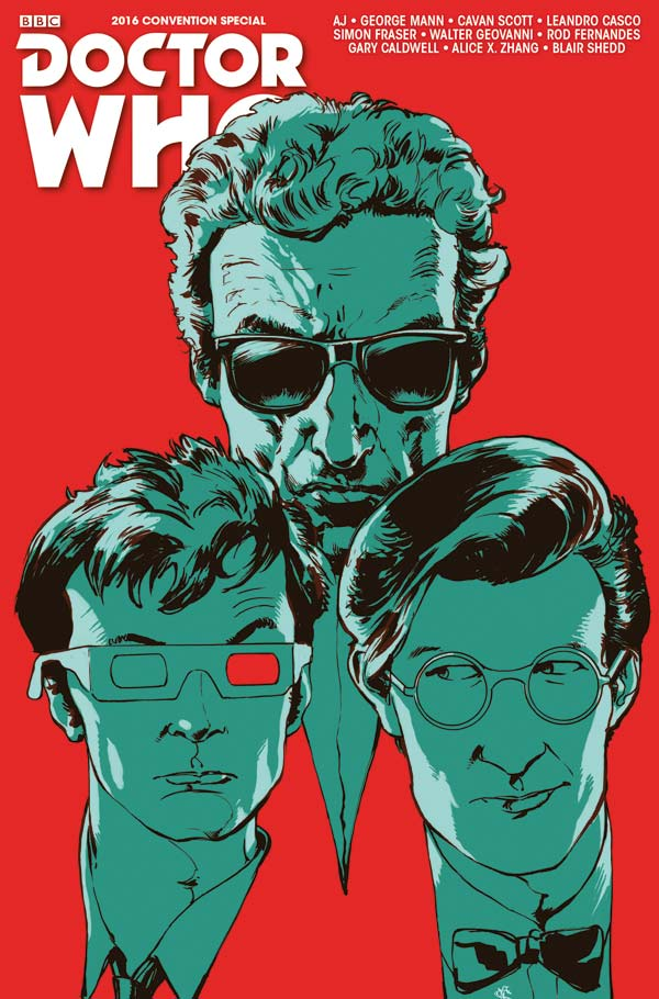Doctor Who Special NYCC16 - Cover B