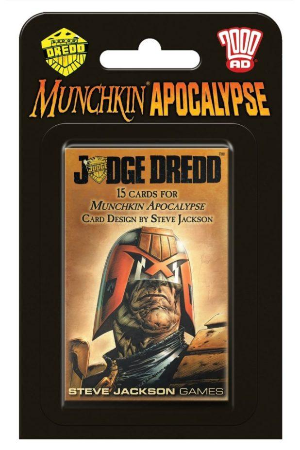 Munchkin Apocalypse: Judge Dredd