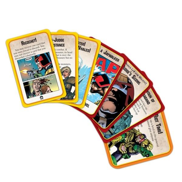 Munchkin Apocalypse: Judge Dredd Cards