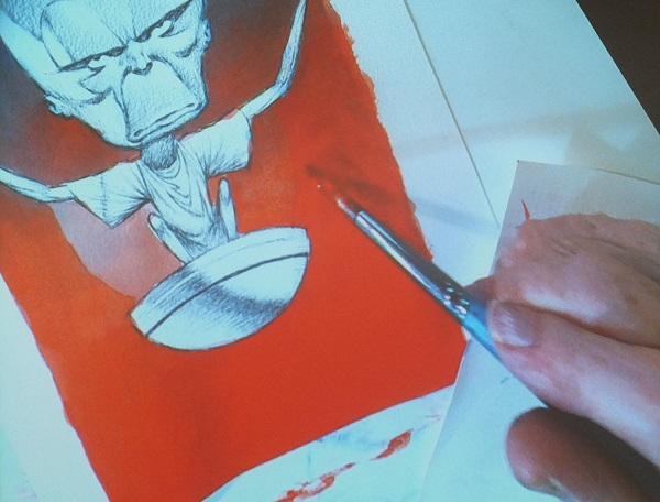 Ian Kennedy Masterclass 2016 - Red Background