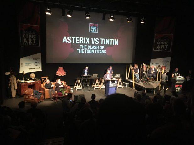 Asterix vs Tintin - Benoit Peeters