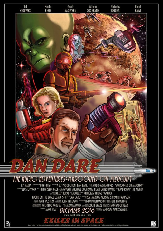 Dan Dare Audio Adventures - Marooned on Mercury Poster