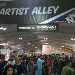 NYCC 2016 Day 2 - Artists Alley