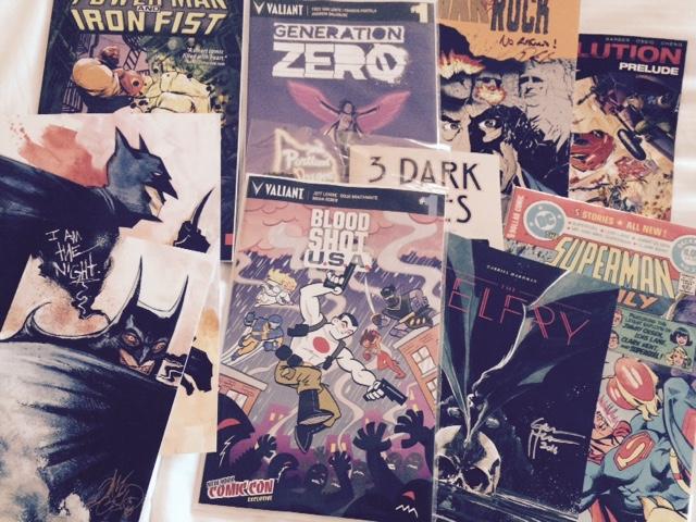 NYCC 2016 - Comics Montage