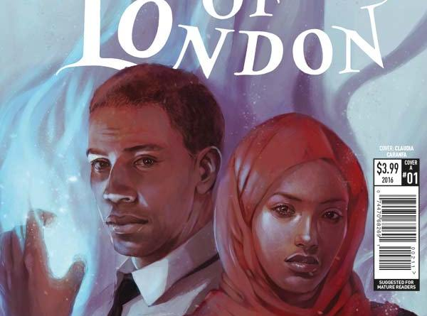 Rivers of London: Black Mould #1 - Cover A by Claudia Caranfa