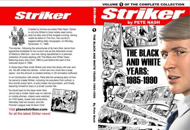 Striker Volume One - Cover
