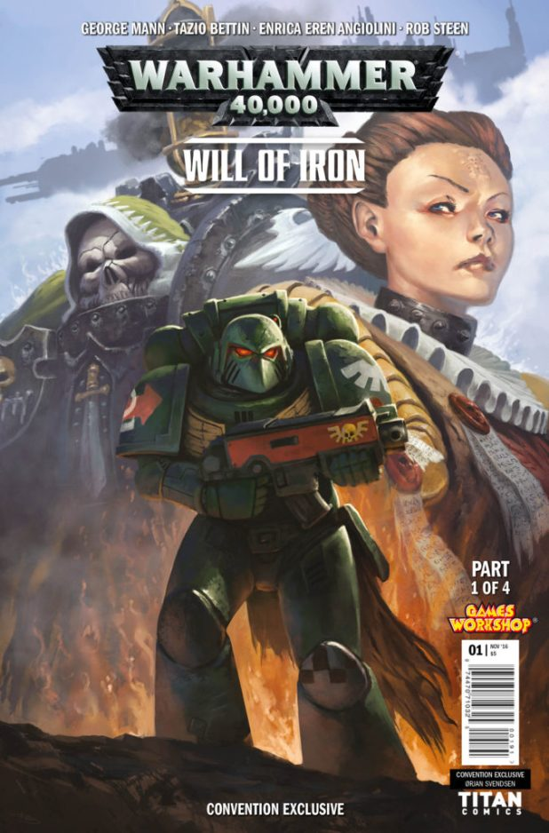Warhammer 40K #1 - NYCC16