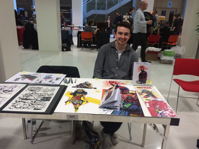 Nottingham Comic Convention 2016 - Matt Harrower