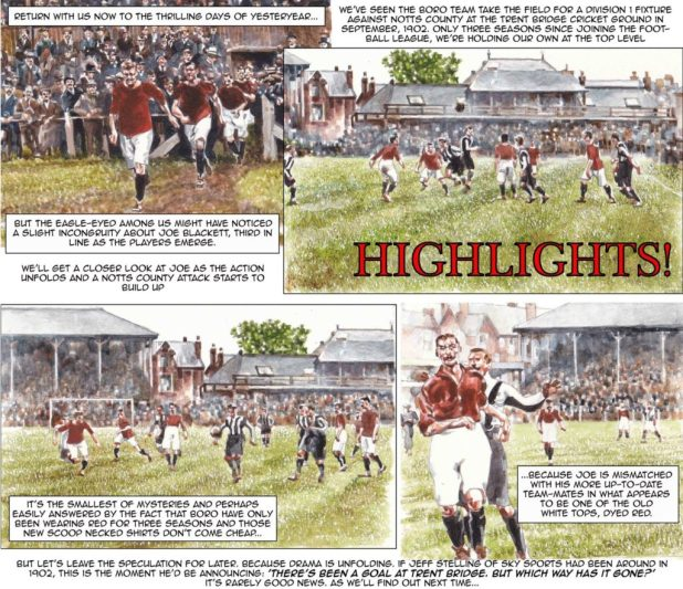 Richard Piers Rayner Middlesbrough FC History Art