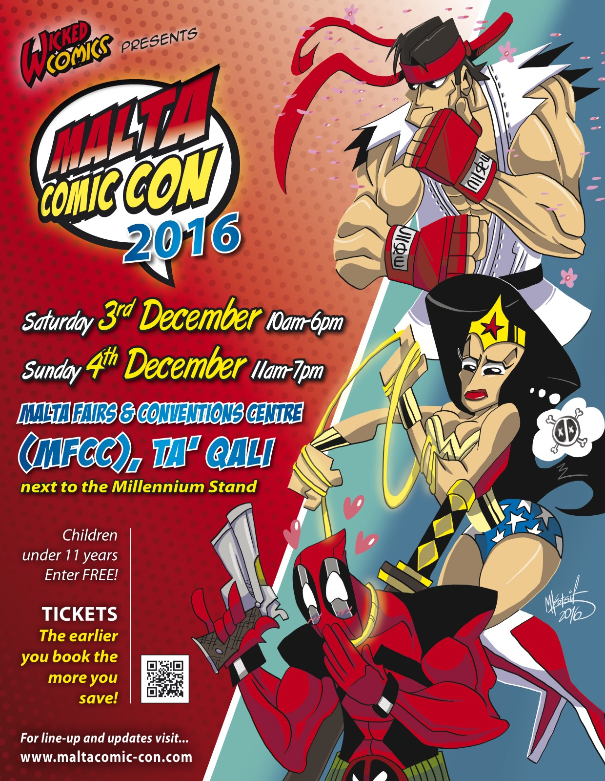 2000AD's Tom Foster among first guests announced for Malta Comic Con 2016