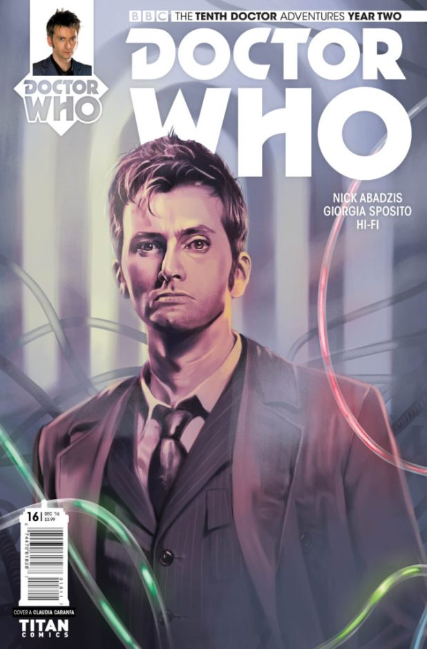 Doctor Who: The Tenth Doctor Volume 2 #16 COVER A: Claudia Caranfa