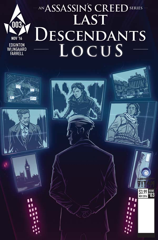 Assassin's Creed: Locus #3 Cover A