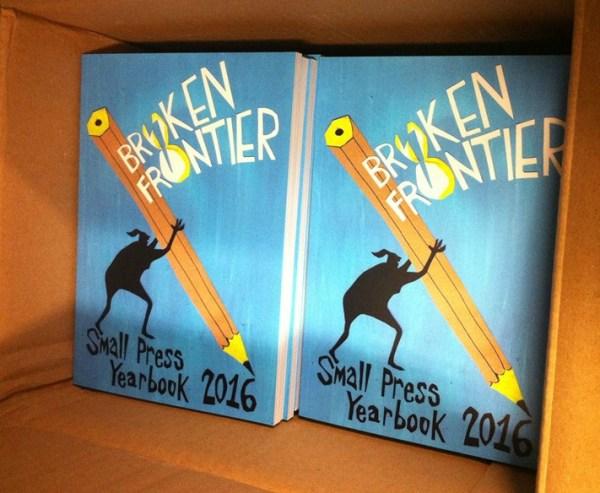 Broken Frontier Small Press Yearbook 2016