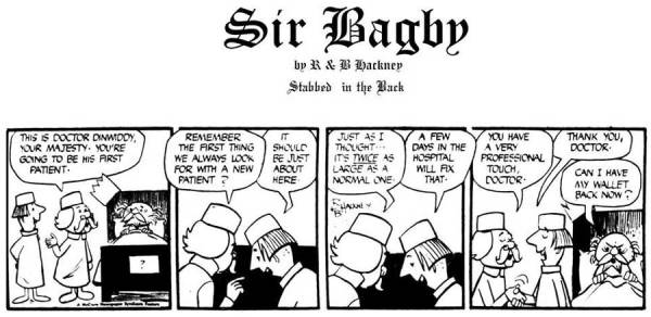 Comics Revue Issue 365-366 - Sir Bagby