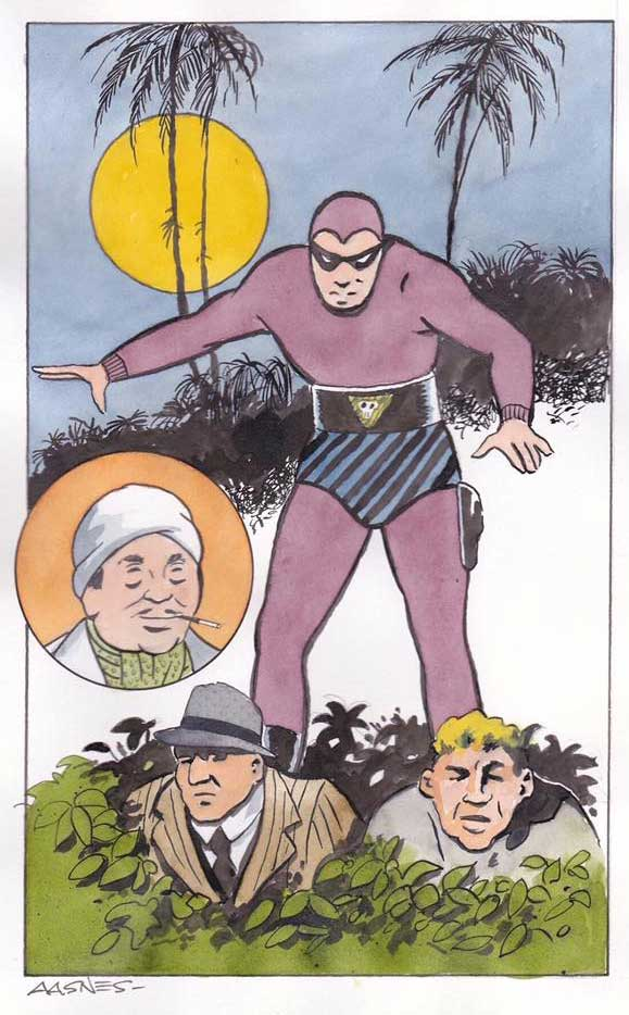Comics Revue Issue 365-366 - Phantom Art