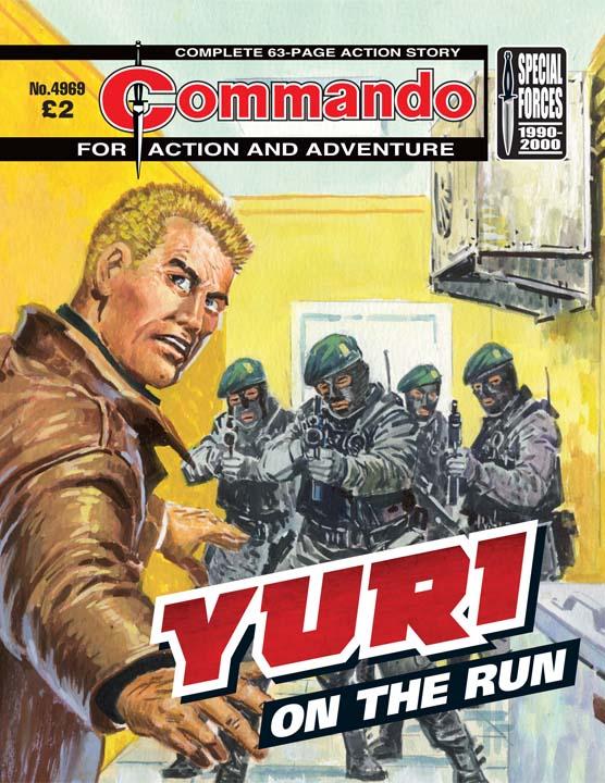 Commando 4969 – Yuri: On the Run
