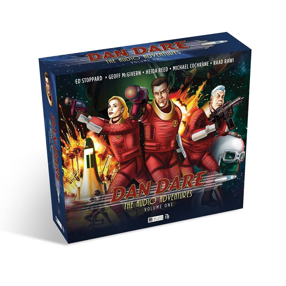 Dan Dare: The Audio Adventures Volume One Box Set Art Revealed