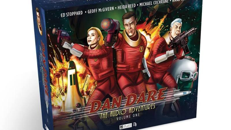 Dan Dare: The Audio Adventures Volume One Box Set Art Revealed