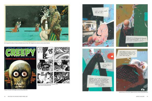 Masters of Spanish Comic Book Art P58-59