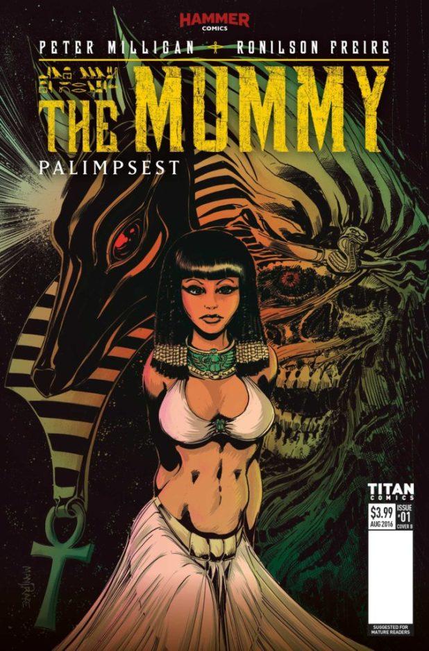 The Mummy #1 Cover B by Cover B: Tom Mandrake & M.D. Penman